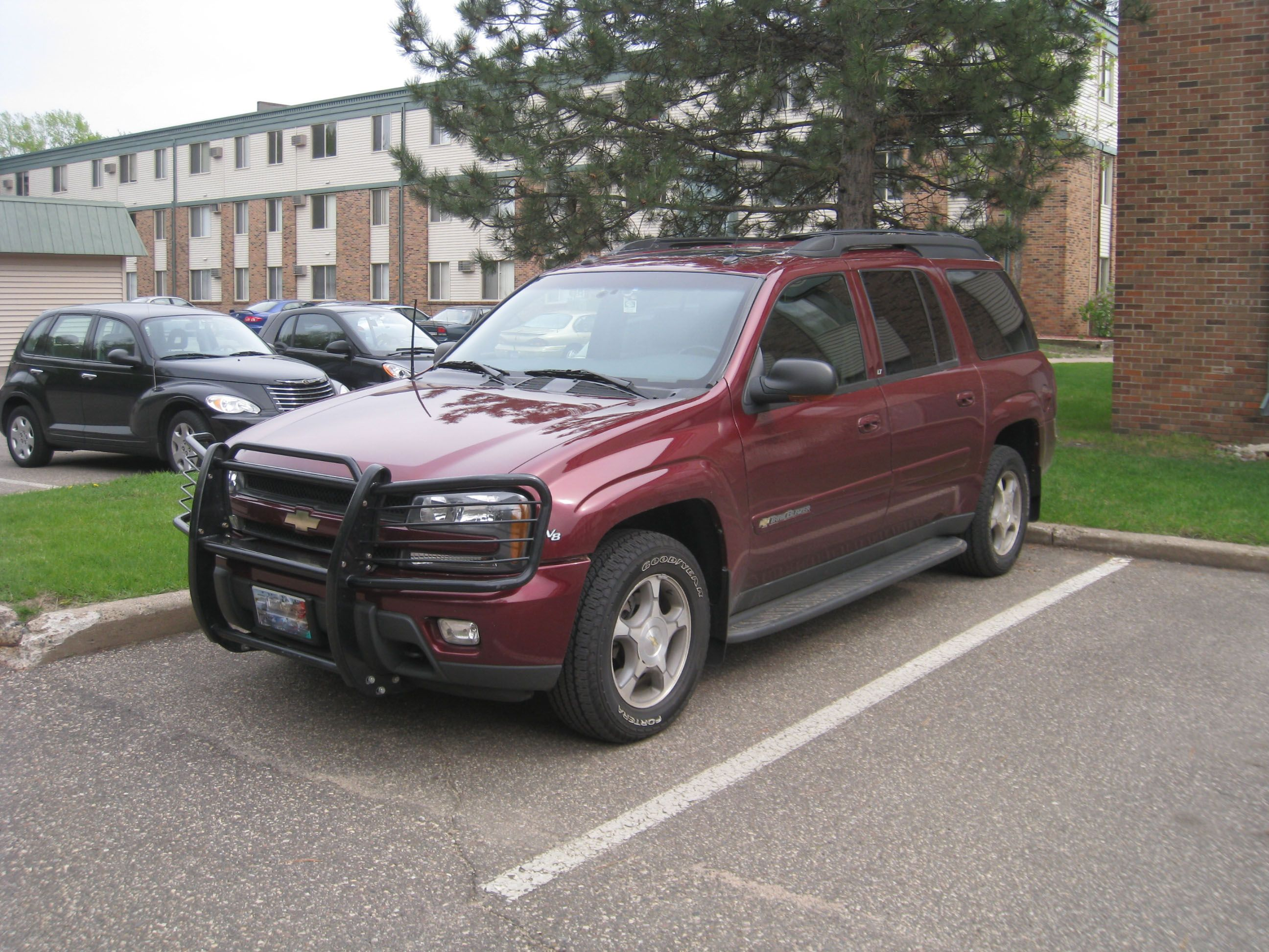 Chevy Trailblazer With Rhino Front Grille Guard Chevy