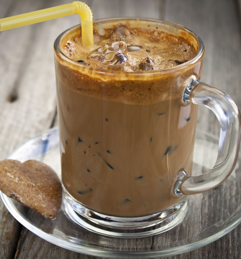 #Recipe: Sip On This #Vegan Iced Almond Milk Latte For The