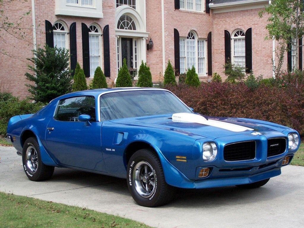 1970 Pontiac Firebird Trans Am 455 Classic cars muscle