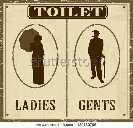 Bathroom Signs Vector Free man and women wc sign stock vectors & vector clip art