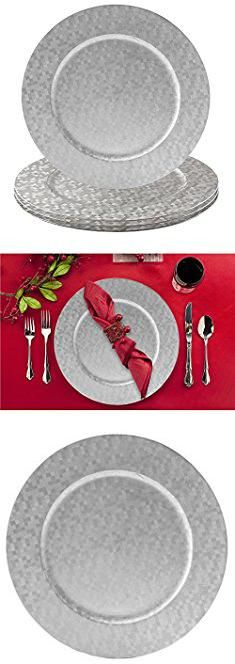 Inexpensive Charger Plates. Elegant Dinnerware Charger Plates Choose Gold or Silver Accent Plate for Holidays  sc 1 st  Pinterest & Inexpensive Charger Plates. Elegant Dinnerware Charger Plates Choose ...