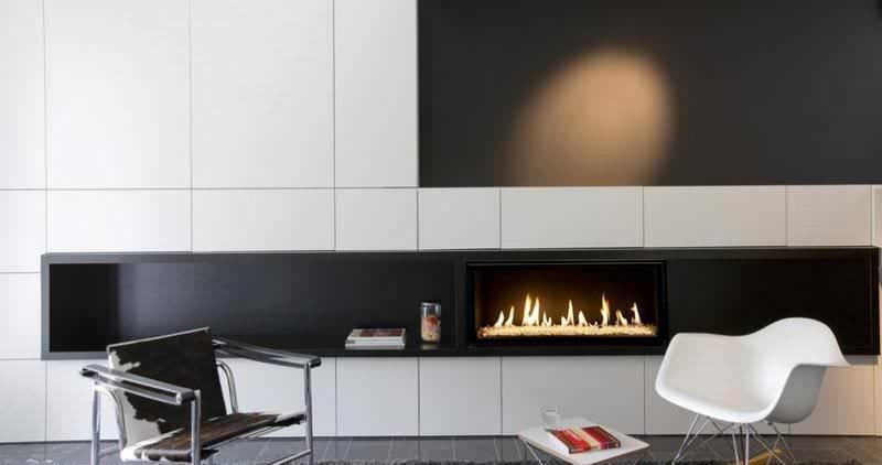 Resultado de imagen para chimeneas modernas a gas IDEAS Y DETALLES - chimeneas modernas