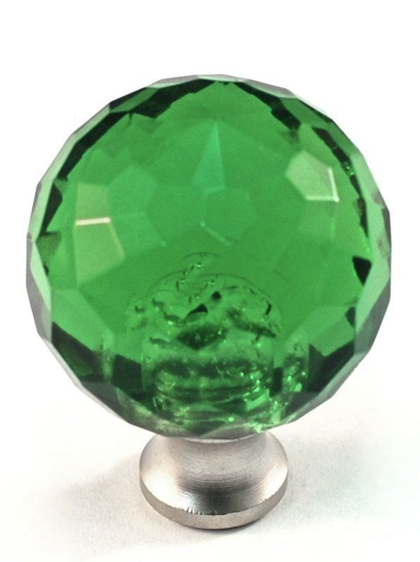 Cal Crystal M30 Crystal 1-3/8 Inch Diameter Round Cabinet Knob ...