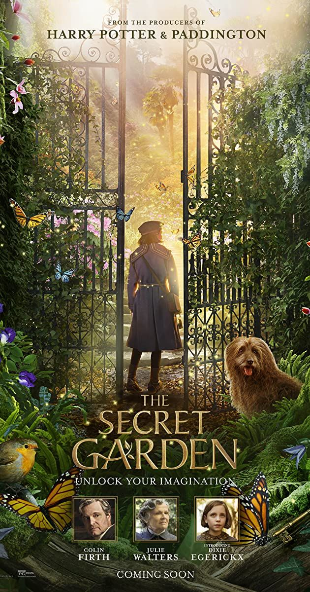 Directed By Marc Munden With Dixie Egerickx Colin Firth Julie Walters Edan Hayhurst An Orphaned Girl Discov Secret Garden The Secret Good Movies To Watch