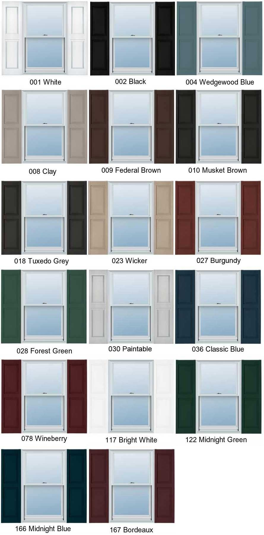 Exterior Shutters Buying Guide Functional Decorative Exterior Paint Colors For House Shutter Colors House Shutter Colors