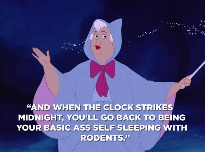 Cinderella S Fairy Godmother Was Actually The Worst Cinderella