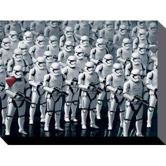 Star Wars Poster Reproduction Sur Toile, Tendue Sur Châssis - Le Reveil De La Force Episode VII, Stormtrooper Army (60x80 cm)
