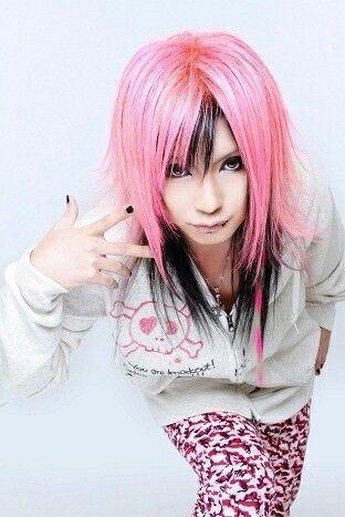 Visual Kei Visual Kei Punk Hair Pink Hair