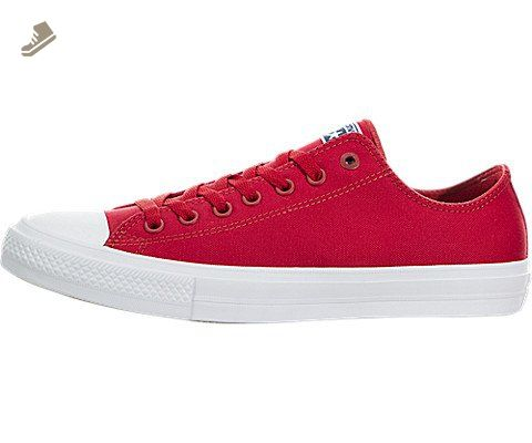 Converse Chuck Taylor II Ox Womens Red