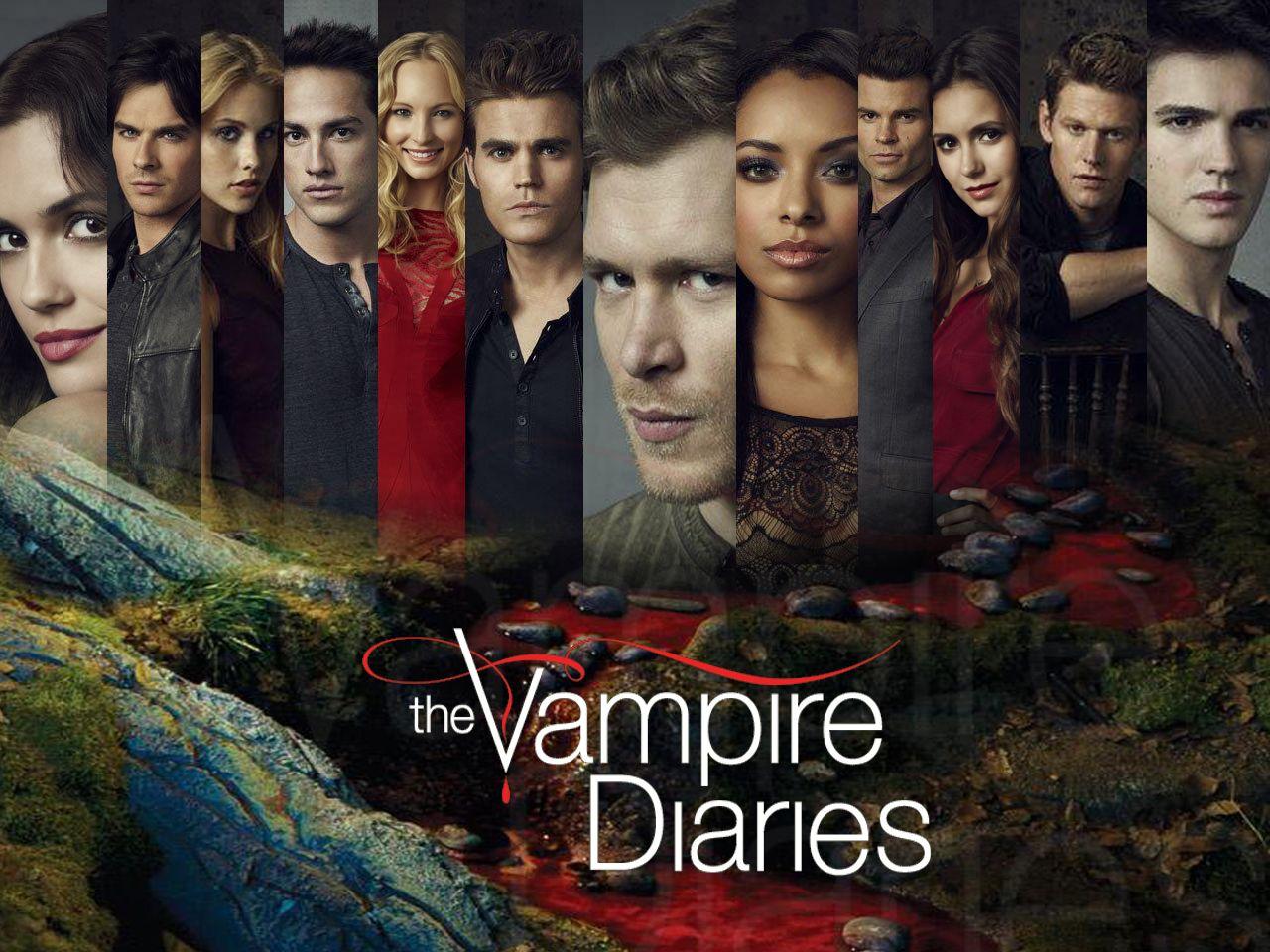 The Vampire Diaries Season 1 Posters Poster Nao Oficial Da 4ª