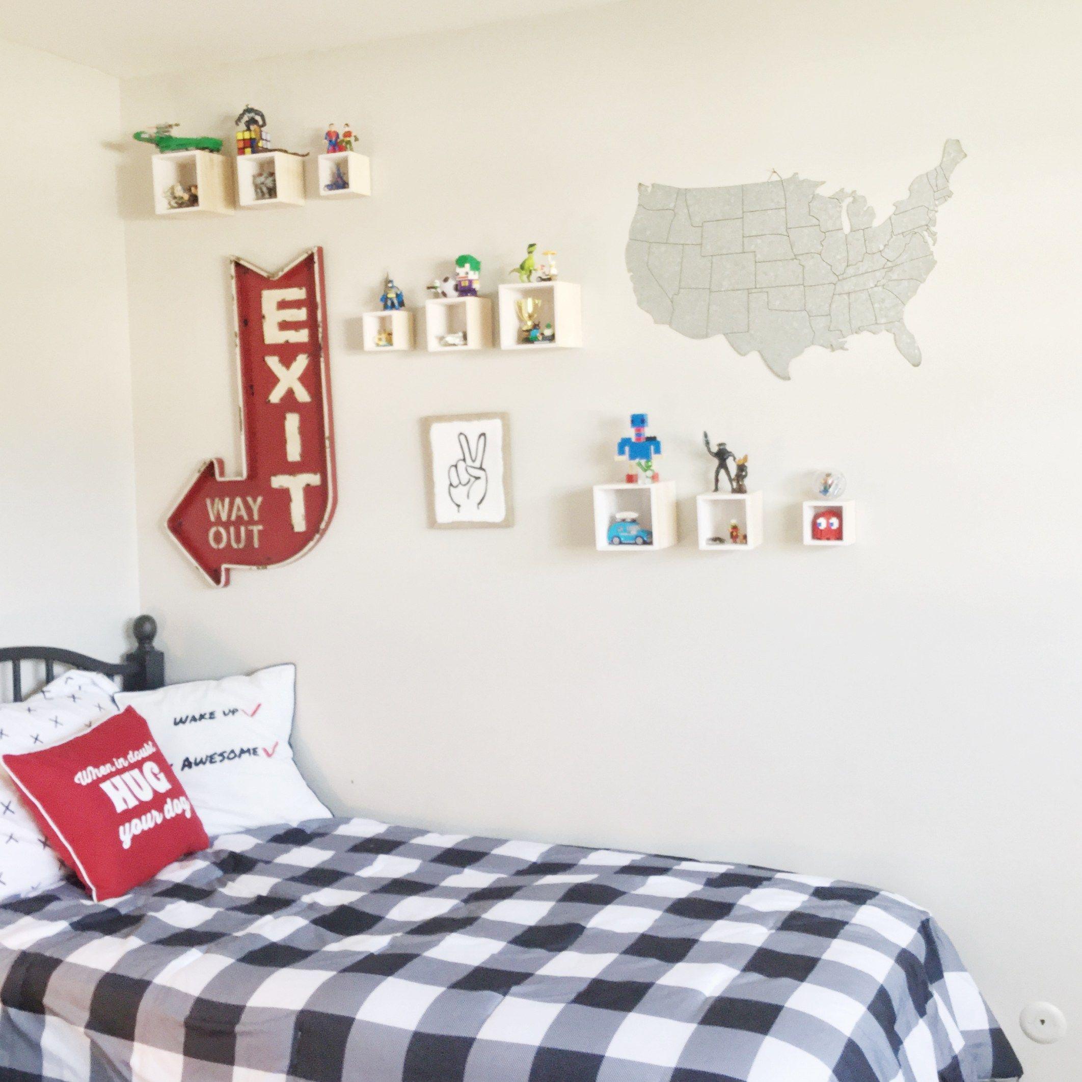 Boy S Bedroom Wall Art