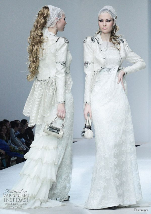 Wedding Gowns from Firdaws by Laura & Medni | Fashion designers ...