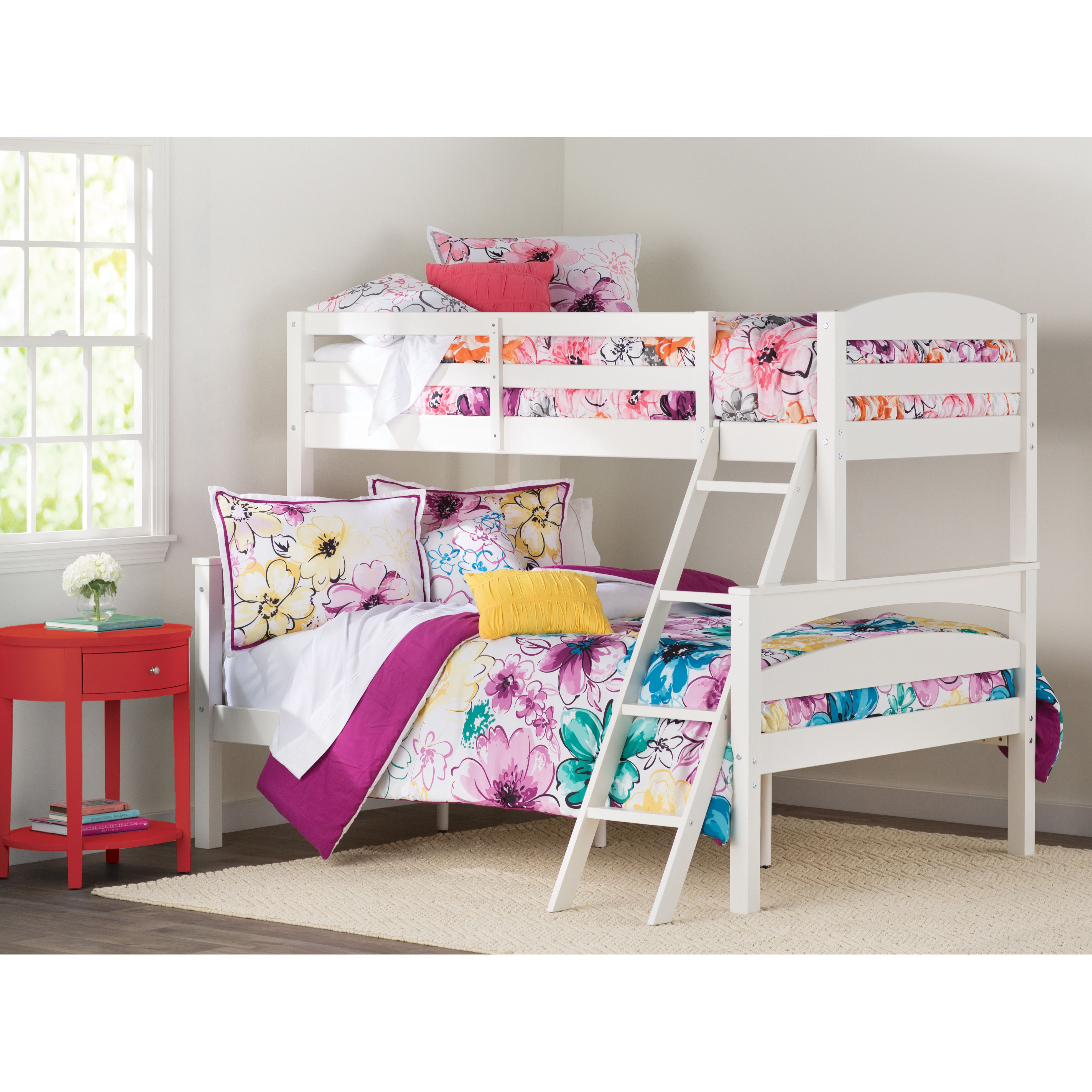 Sienna Rose Twin over Full Bunk Bed Full bunk beds, Bunk