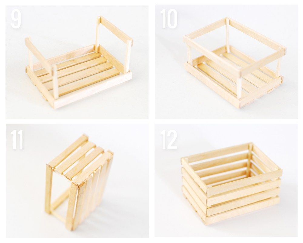 Photo of Make Your Own MINI CRATES DECOR – Paper and Landscapes