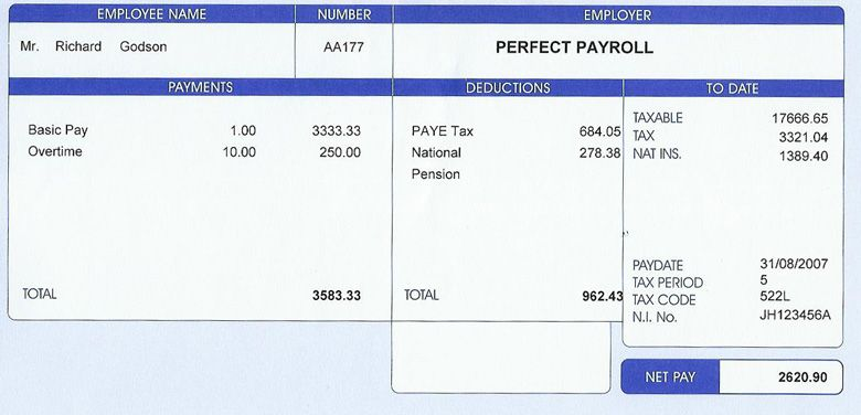 We Sell Genuine Government Approved Payslips Order Online From