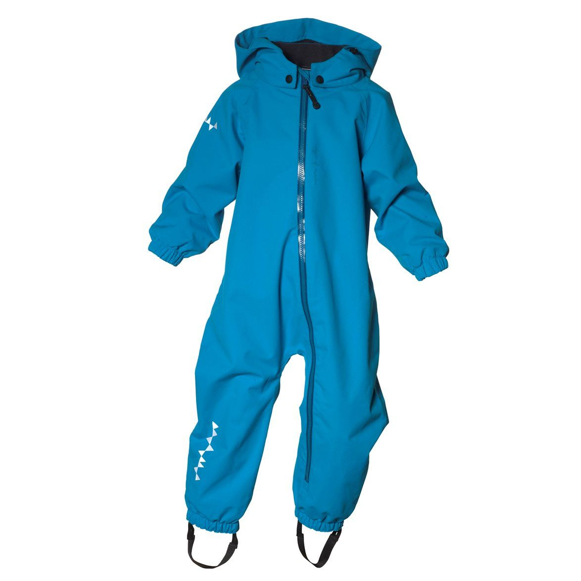 We are delighted to offer this new TODDLER jumpsuit designed for our toddlers, just starting to walk. This is a 100% wind- and waterproof jumpsuit, fully taped, offering the same quality and technical function as the taped garments for Kids and Teens. The TODDLER hardshell Jumpsuit is an alternat...