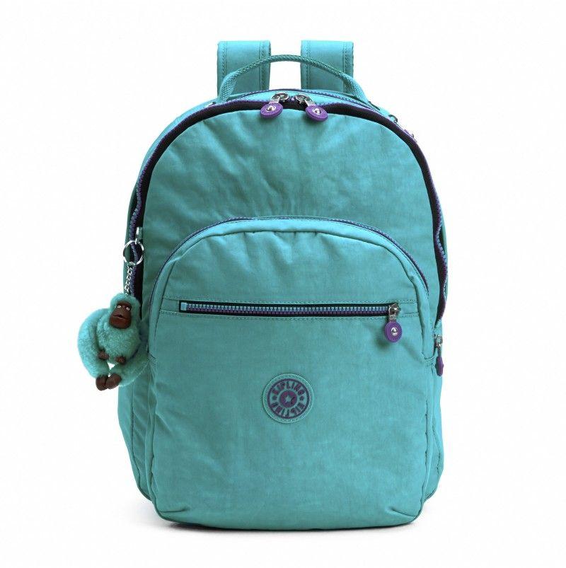 Kipling Seoul Laptop Backpack - Cool Turquoise - Kipling