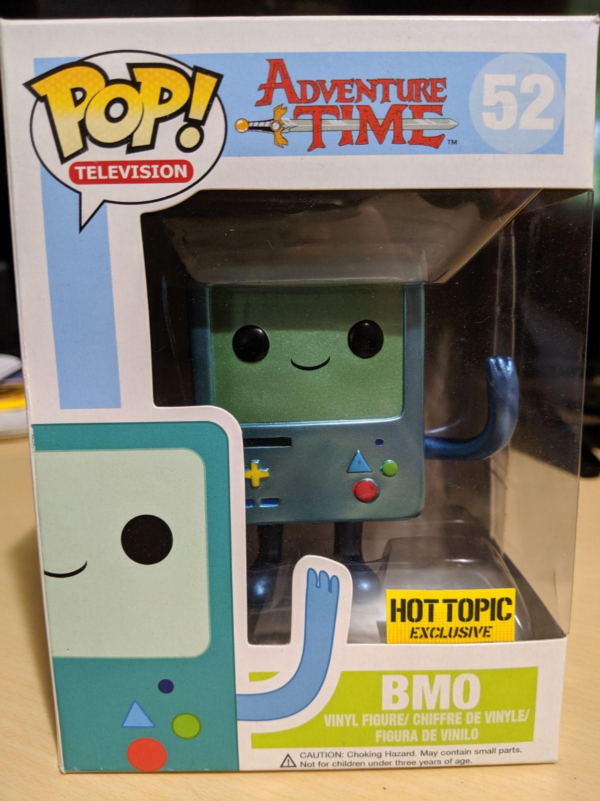 Limited Edition Shiny Bmo Funko Pop Box Has Never Been Opened Funko Pop Funko Bmo
