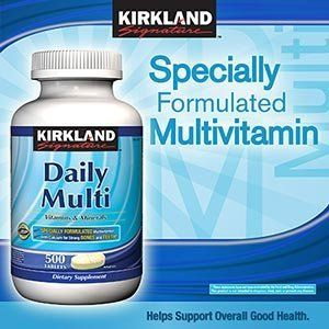 Daily Multi Vitamins  Minerals 500 Tablets Kirkland SignatureTM -- Be sure to check out this awesome product. (This is an affiliate link and I receive a commission for the sales)