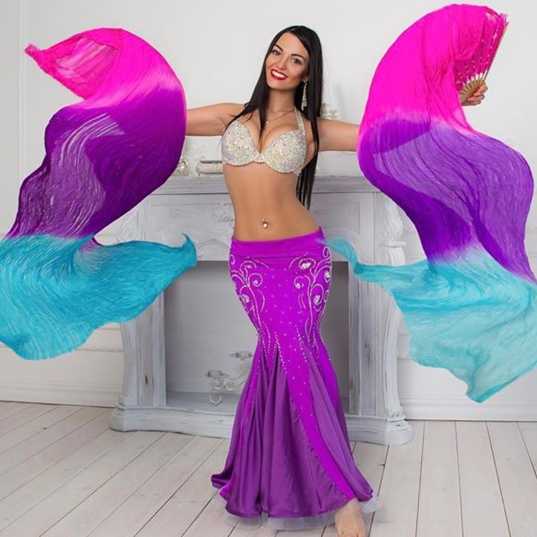 ⭐ fanveils⭐ | Silk fan veil | Pinterest | Trajes de danza ...