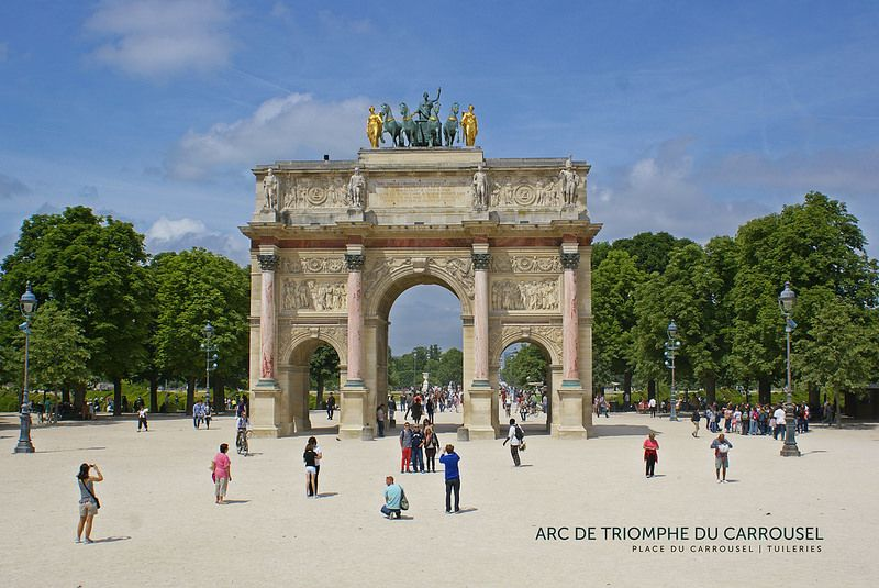 Arc De Triomphe Du Carrousel Arc De Triomphe Paris Kingdom Of