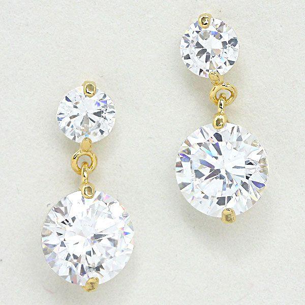 Floating Sparkle Earrings
