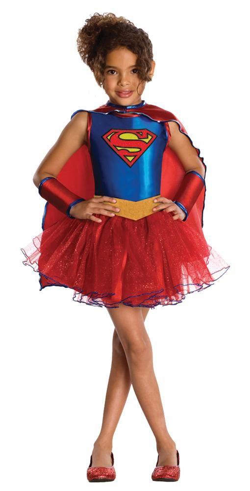 Supergirl Tutu Kids Costume Small 4-6  4a3cda8debe0