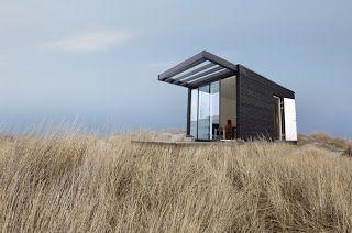 Casa Modular de Madeira - one+ modular homes - Wooden Modular House   Arq &…