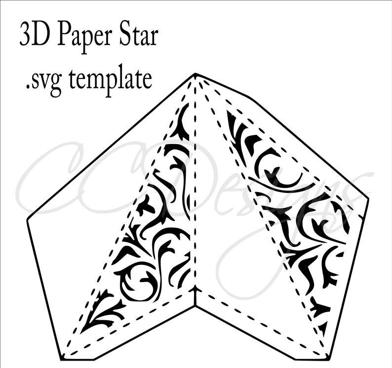 3d paper lantern template  Wedding Paper Lanterns, Hanging Lanterns, Large 5D Paper ...