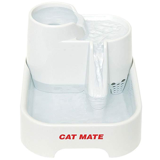 Cat Mate Pet Fountain 70 Fluid Oz. Pet