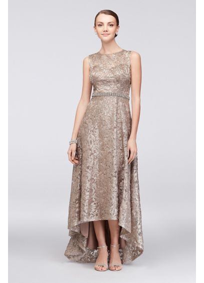 Champagne Mother of the Bride Dresses | High low, Bride dresses and ...