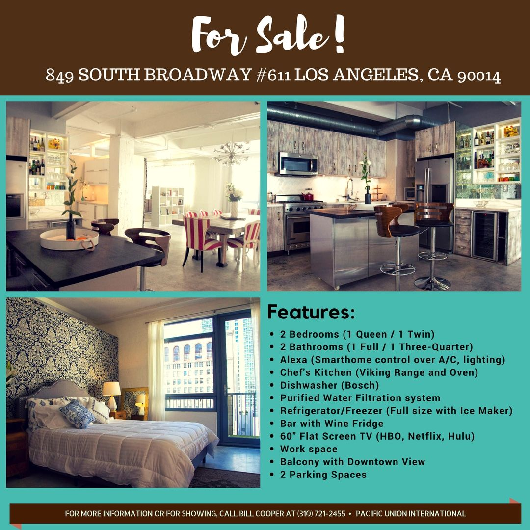 This comfortably designed 1740sf corner live/work loft at the iconic ...