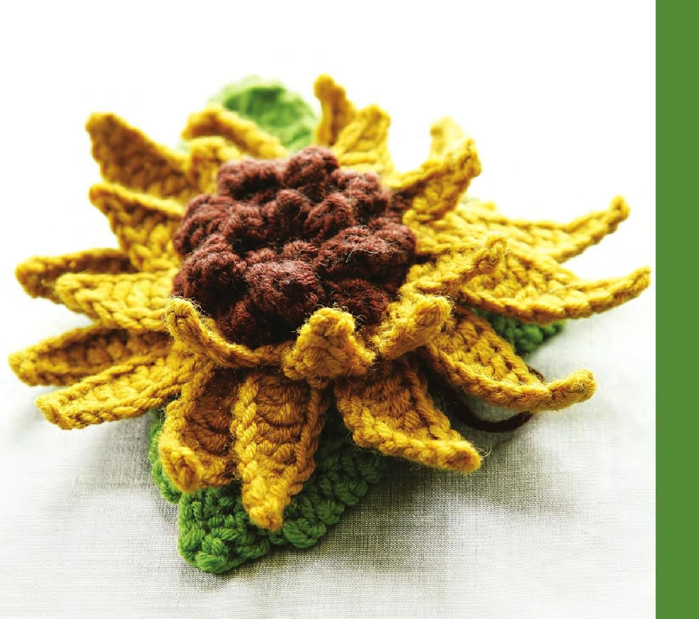 #ClippedOnIssuu from Nicky Epstein Crocheted Flowers