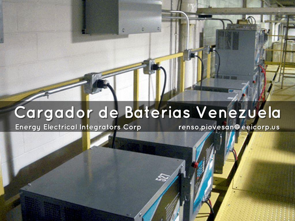 CARGADOR DE BATERIAS VENEZUELA