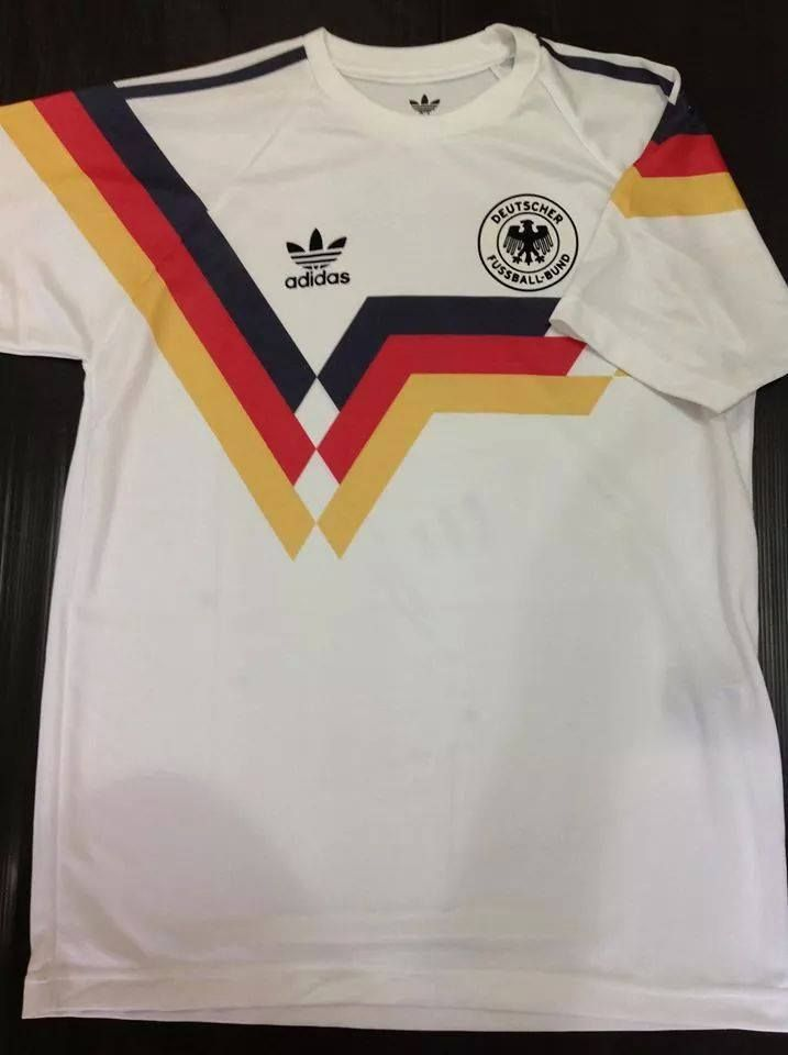 4e0d19078 RETRO Germany 1990 World Cup Replica Soccer Jersey Football Shirt Trikot M  L XL  Germany  SoccerJersey  WorldCup