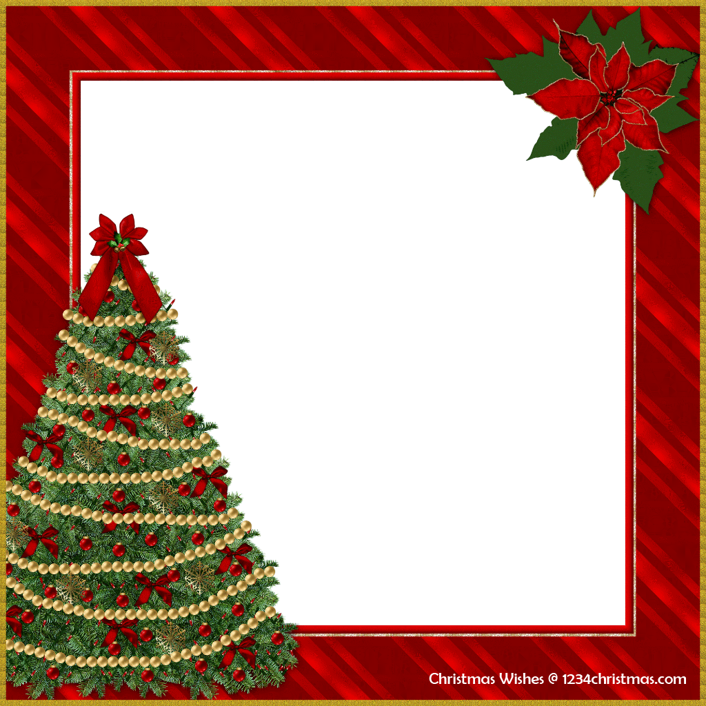 Free Christmas Photo Frame Templates | Christmas Photo Frame ...