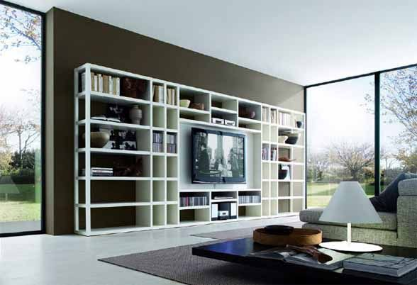 Pin By Rocio Gonzalez Clement On Living Room Living Room Wall Units Modern Living Room Wall Living Room Shelves