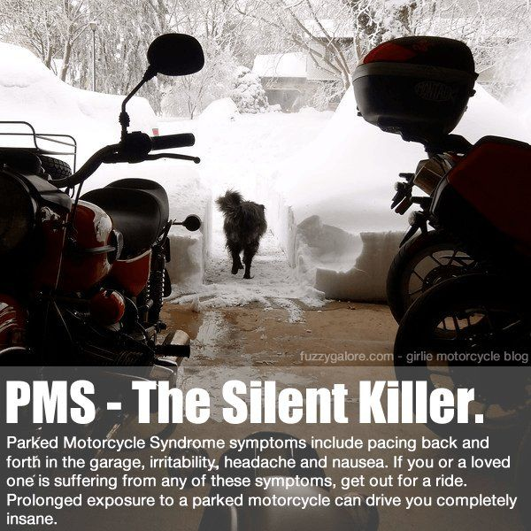 Parked Motorcycle Syndrome Motorcycle Memes Motorcycle Quotes