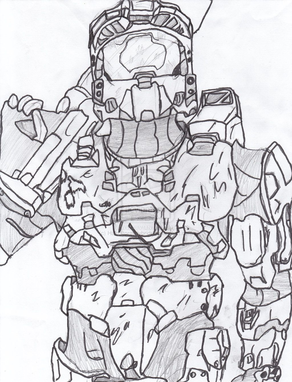 coloring pages halo # 0
