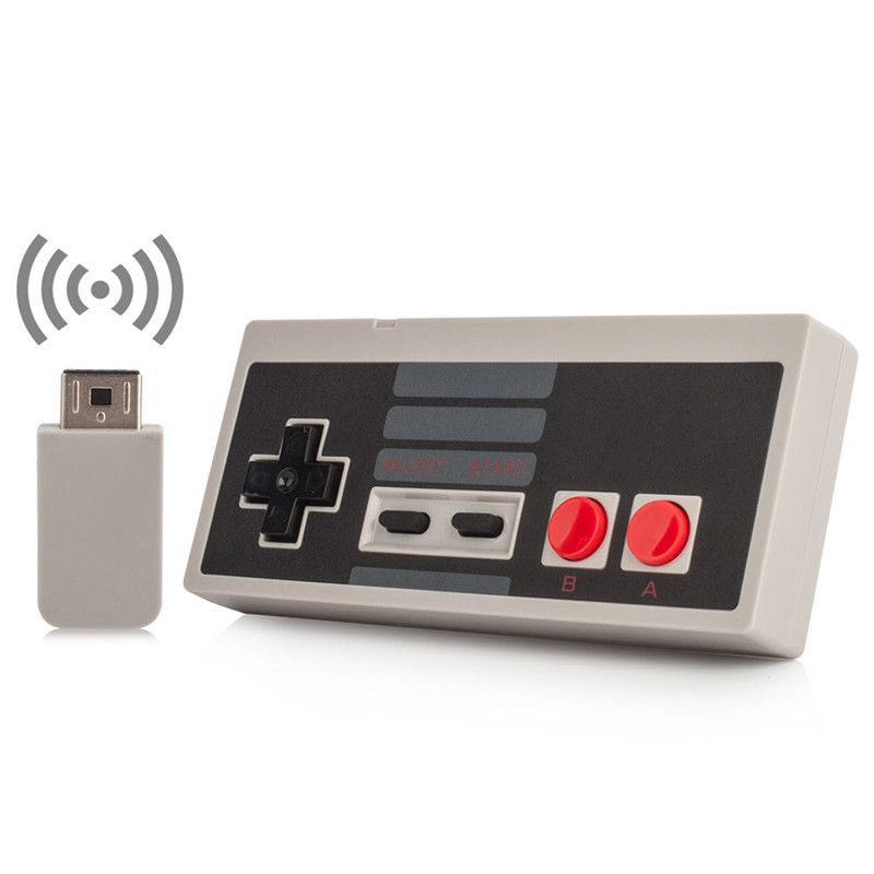 Wireless USB Plug and Play Gaming Controller Gamepad for NES
