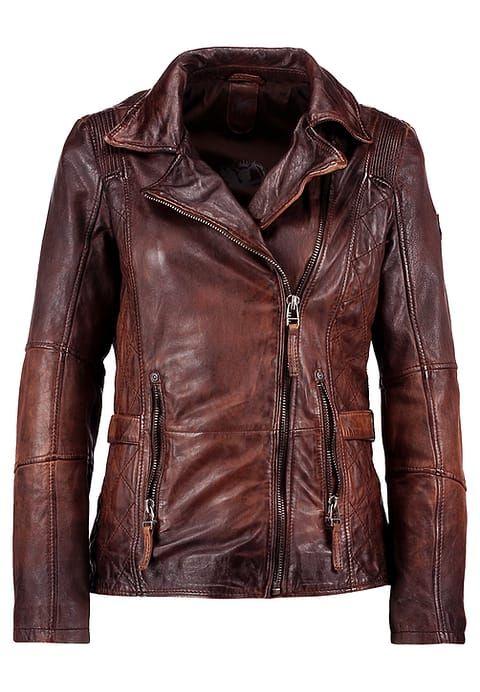 Los Angeles 2019 rabatt verkauf großartiges Aussehen ADVANCE LATEOV - Lederjacke - vintage brown @ Zalando.de ...