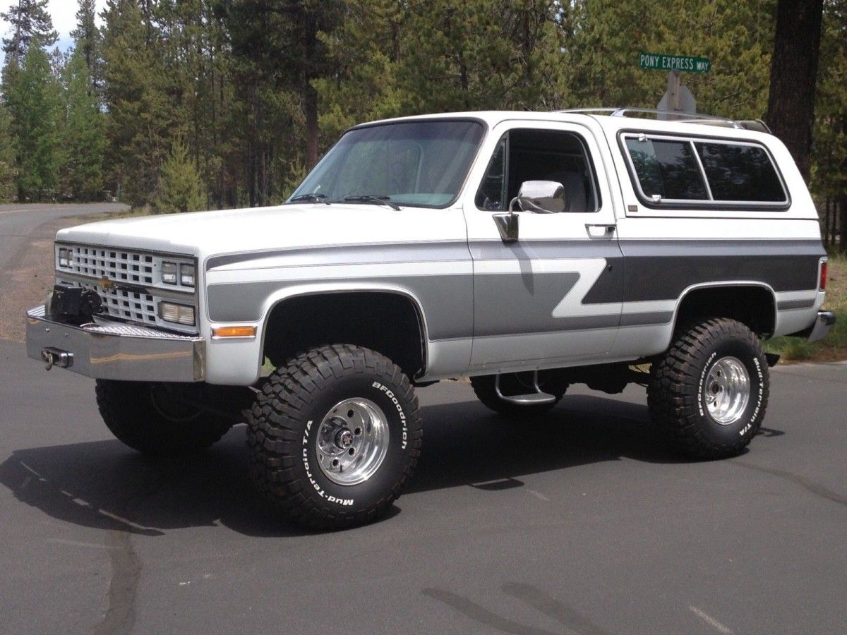 1990 Chevrolet Blazer Second Owner, Mint! Chevrolet