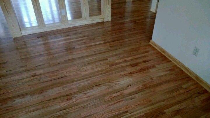 New Oak Floor Finished With Bona Drifast Sealer And Bona Novia Satin Waterbased Finish Oak Floors Floor Finishes Flooring