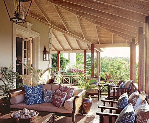 If only my three season porch looked like this!