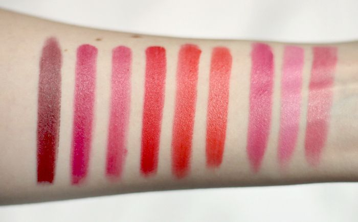 bhcosmetics Ultimate Lips swatches