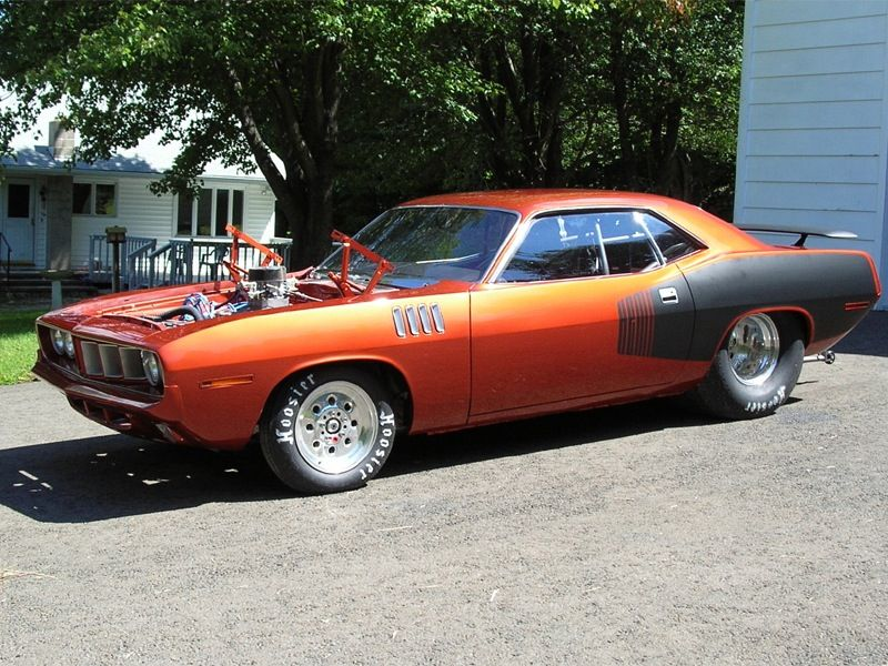 Pro Street 71 Cuda Mopar Mopar Muscle Cars Plymouth Muscle Cars