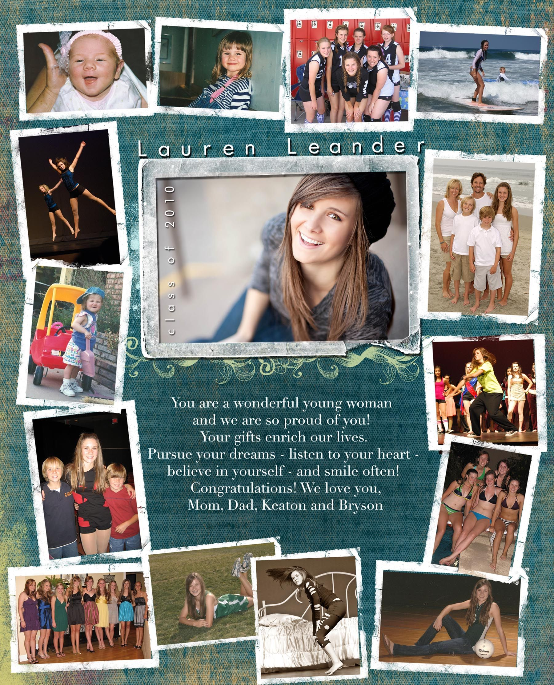 Custom Senior Pages | Kacey Luvi Makeup+Photography | Senior salute ...