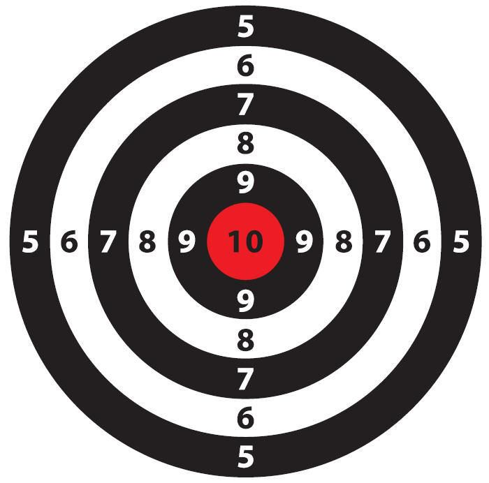 This is an image of Superb Shooting Target Prints