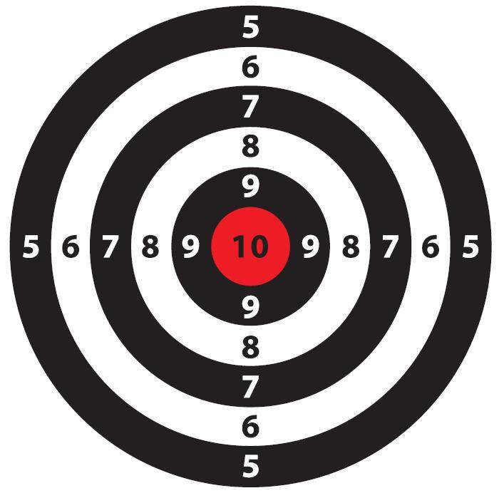 free printable shooting target # 0