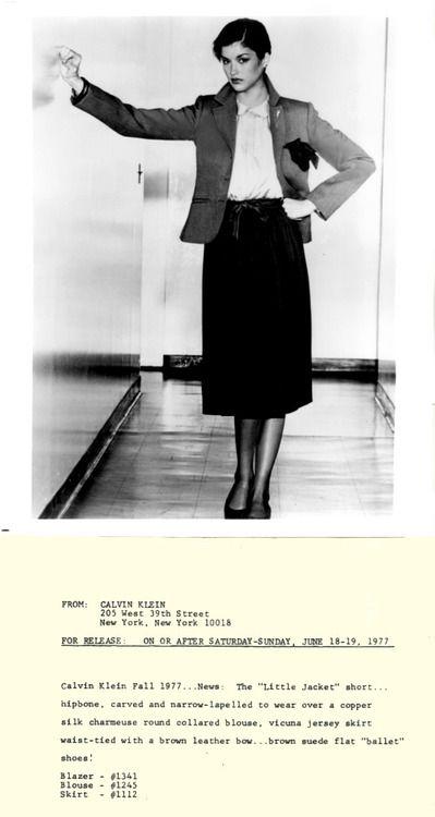 Calvin Klein 1970s  d75cd3d577